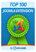 Top 100 Joomla Extensions by Savvy Panda